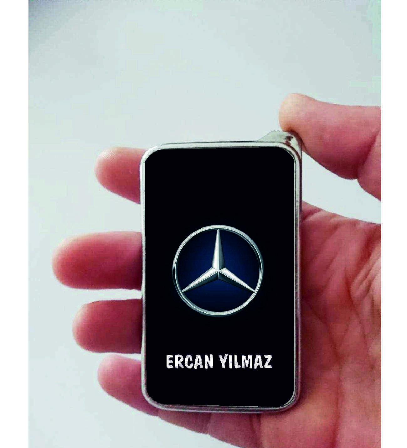 Xl Kişiye Özel Mercedes Logolu Çakmak