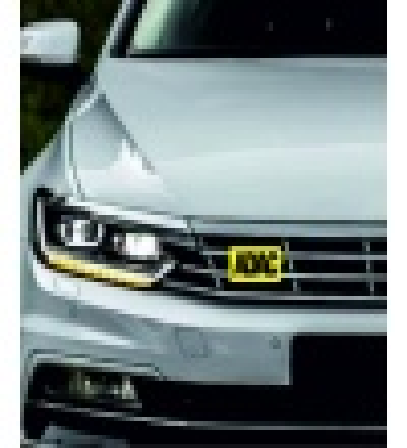 Araç Ön Panjur Logosu Panjur Arma ADAC logolu