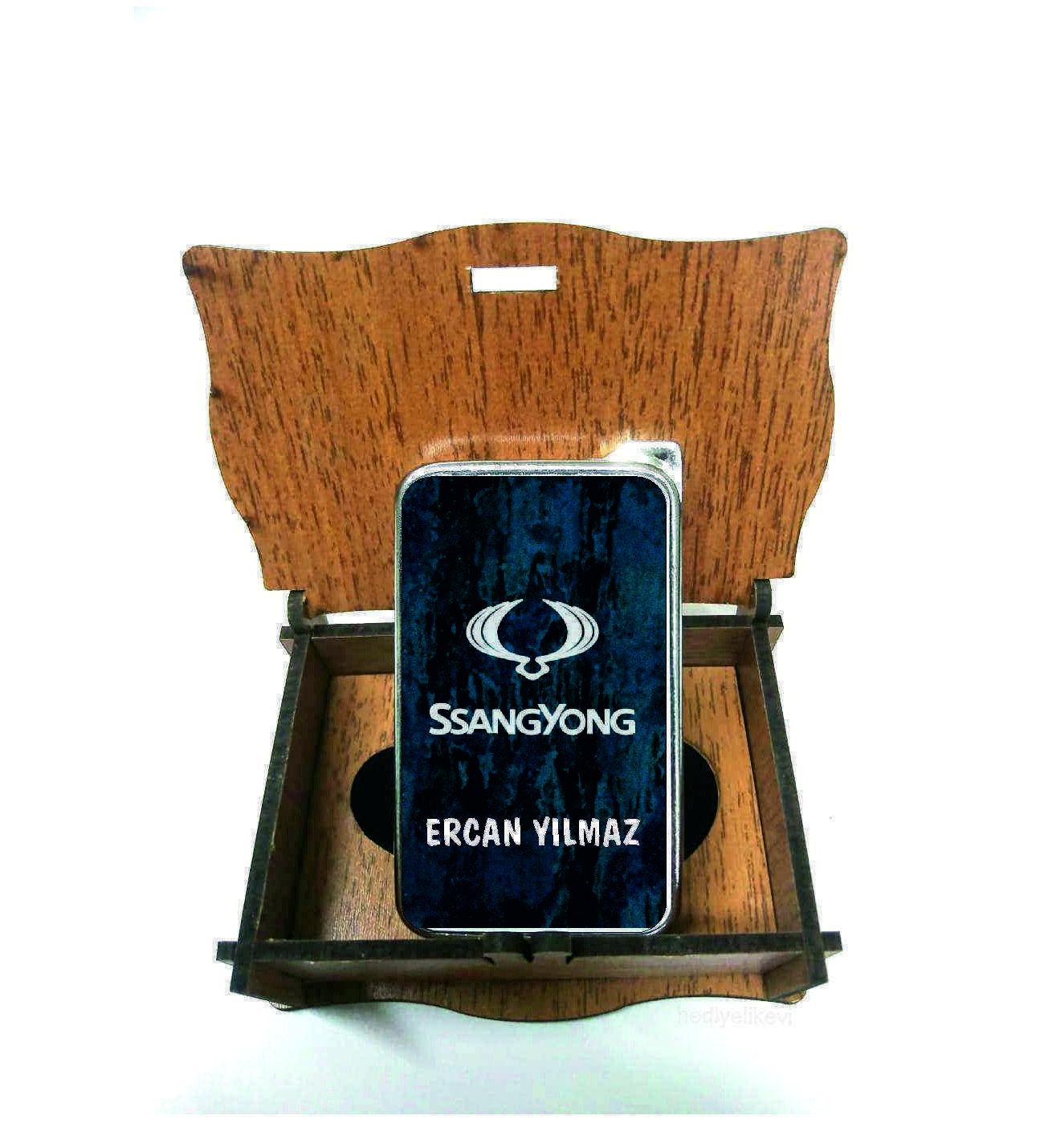 Xl Kişiye Özel Ssangyong Logolu Çakmak