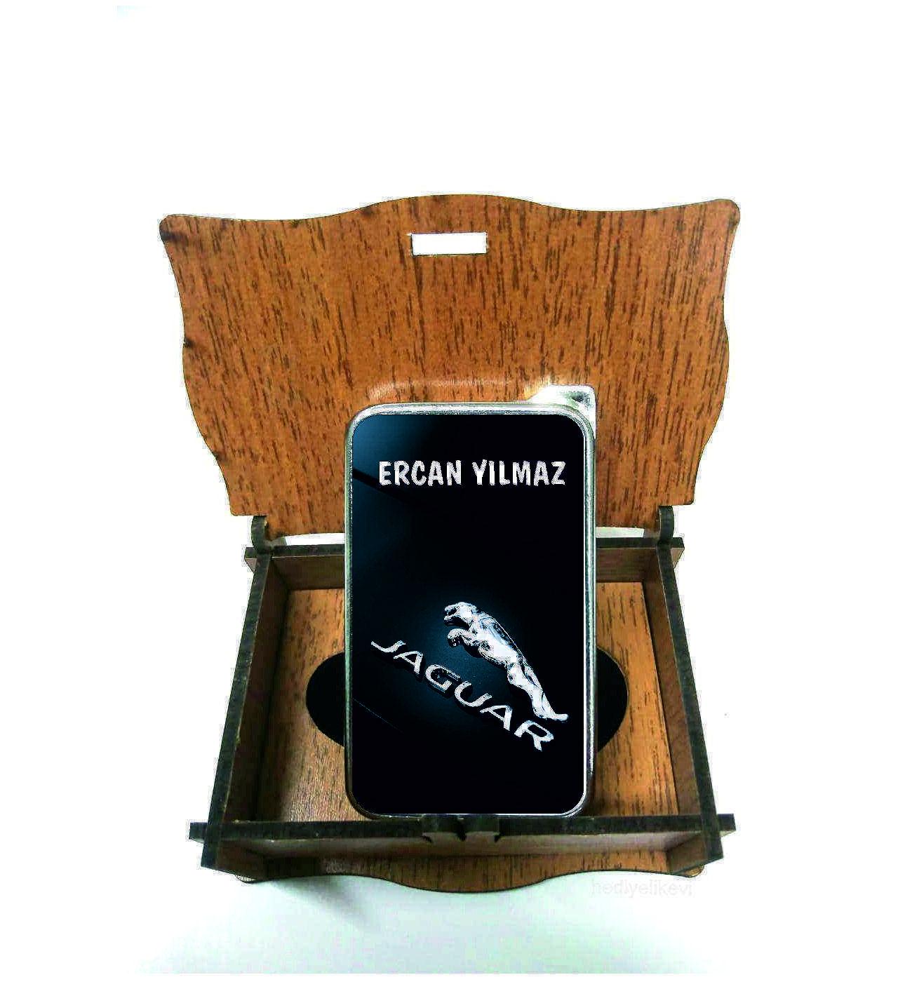 Xl Kişiye Özel Jaguar Logolu Çakmak