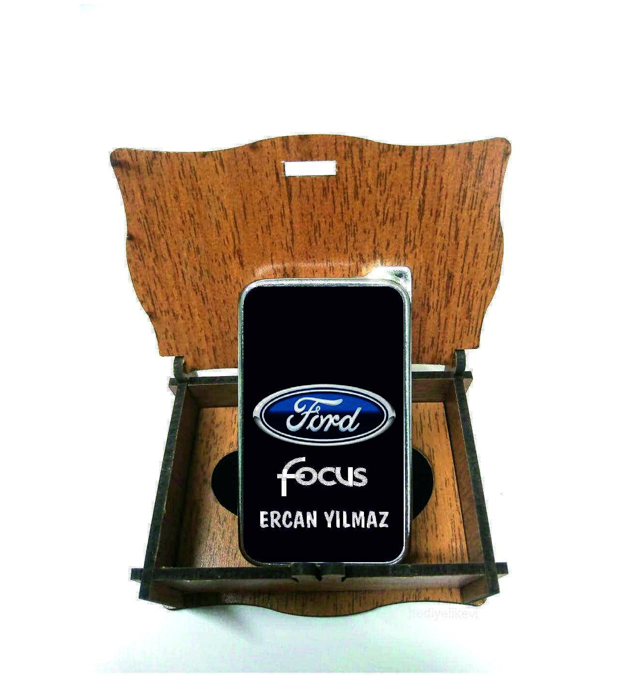 Xl Kişiye Özel Ford Focus Logolu Çakmak