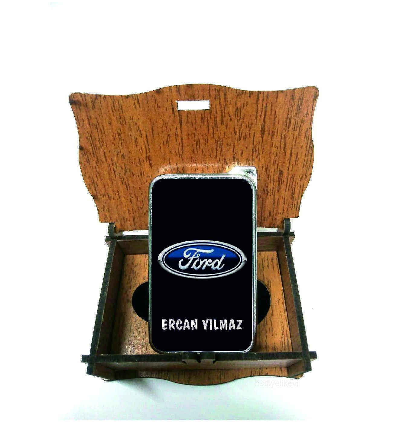 Xl Kişiye Özel Ford Logolu Çakmak