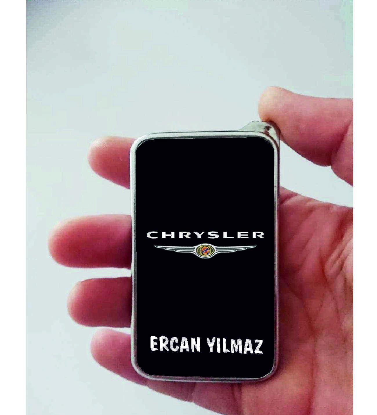 Xl Kişiye Özel Chrysler Logolu Çakmak